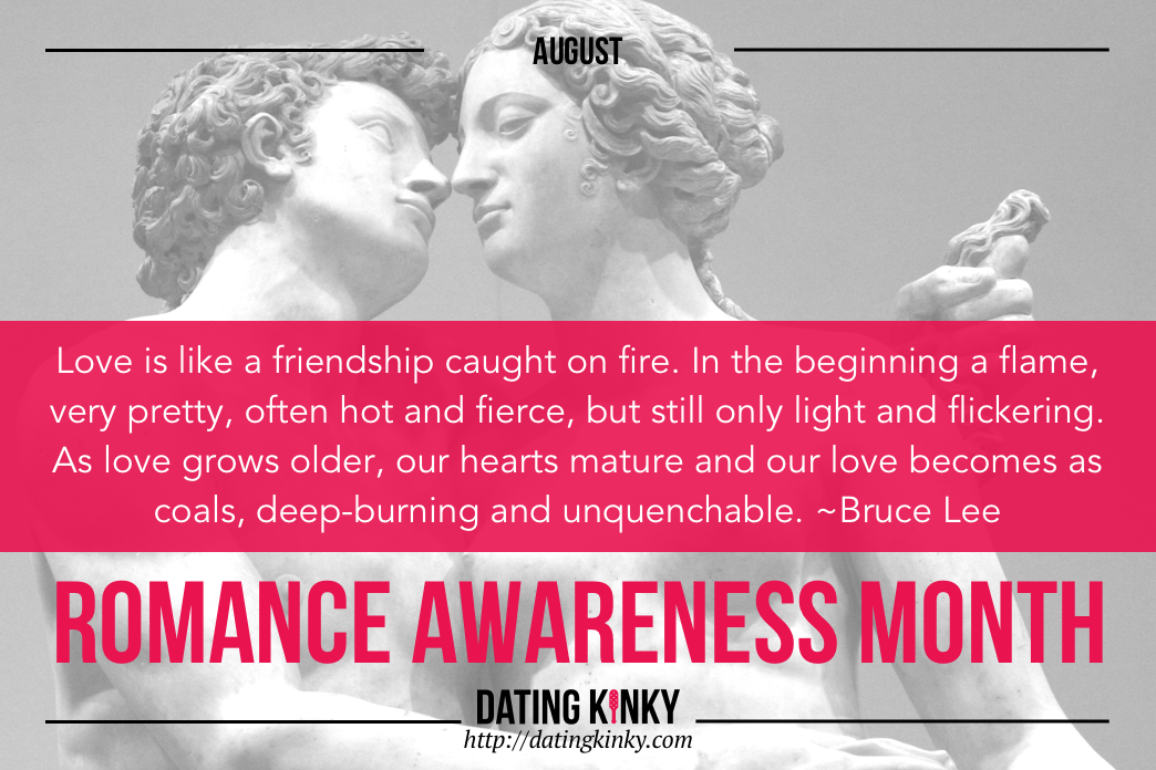 Happy Romance Awareness Month From Dating Kinky