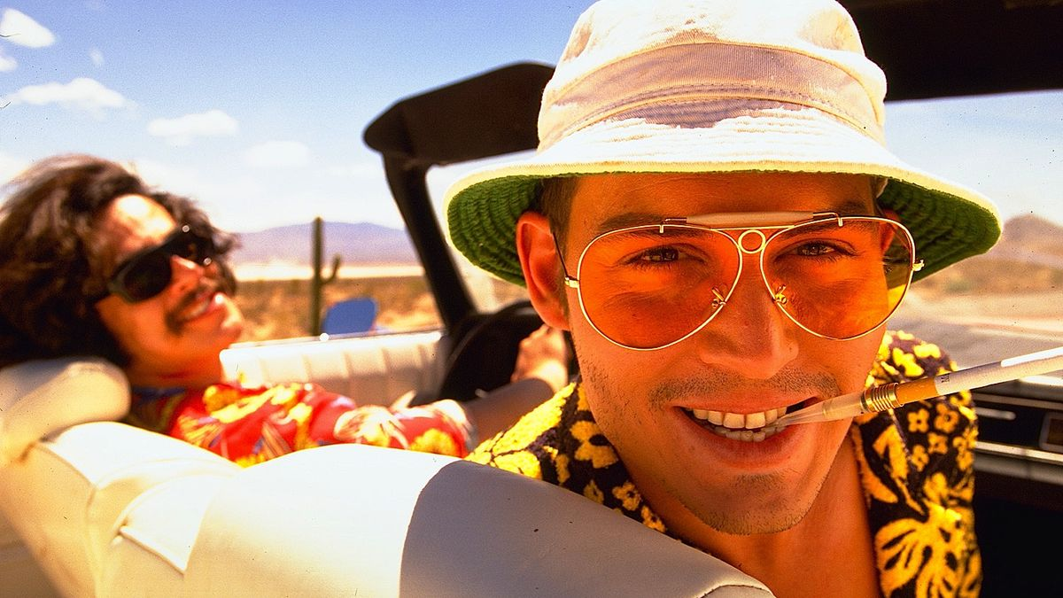 "A still from the movie, ""Fear and Loathing in Las Vegas."""