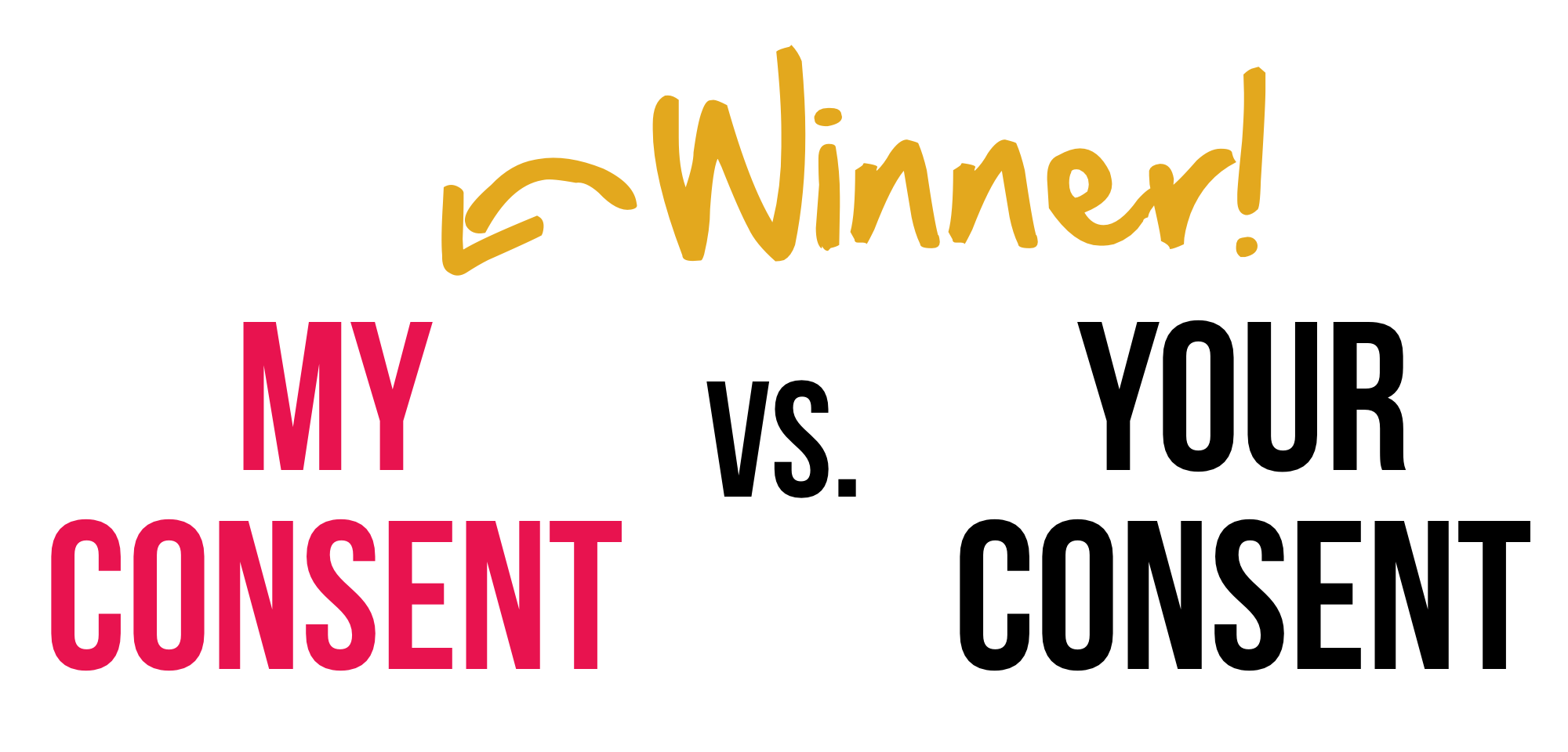 My Consent Versus Your Consent