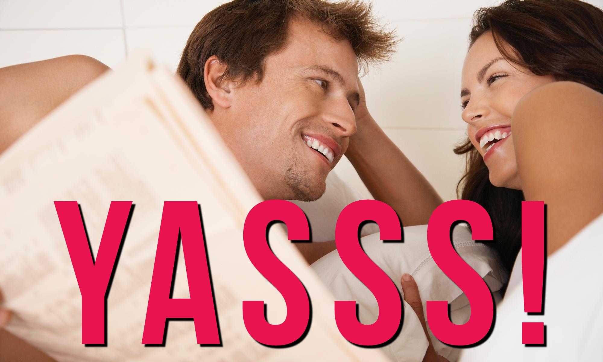 Sex Makes You Happier