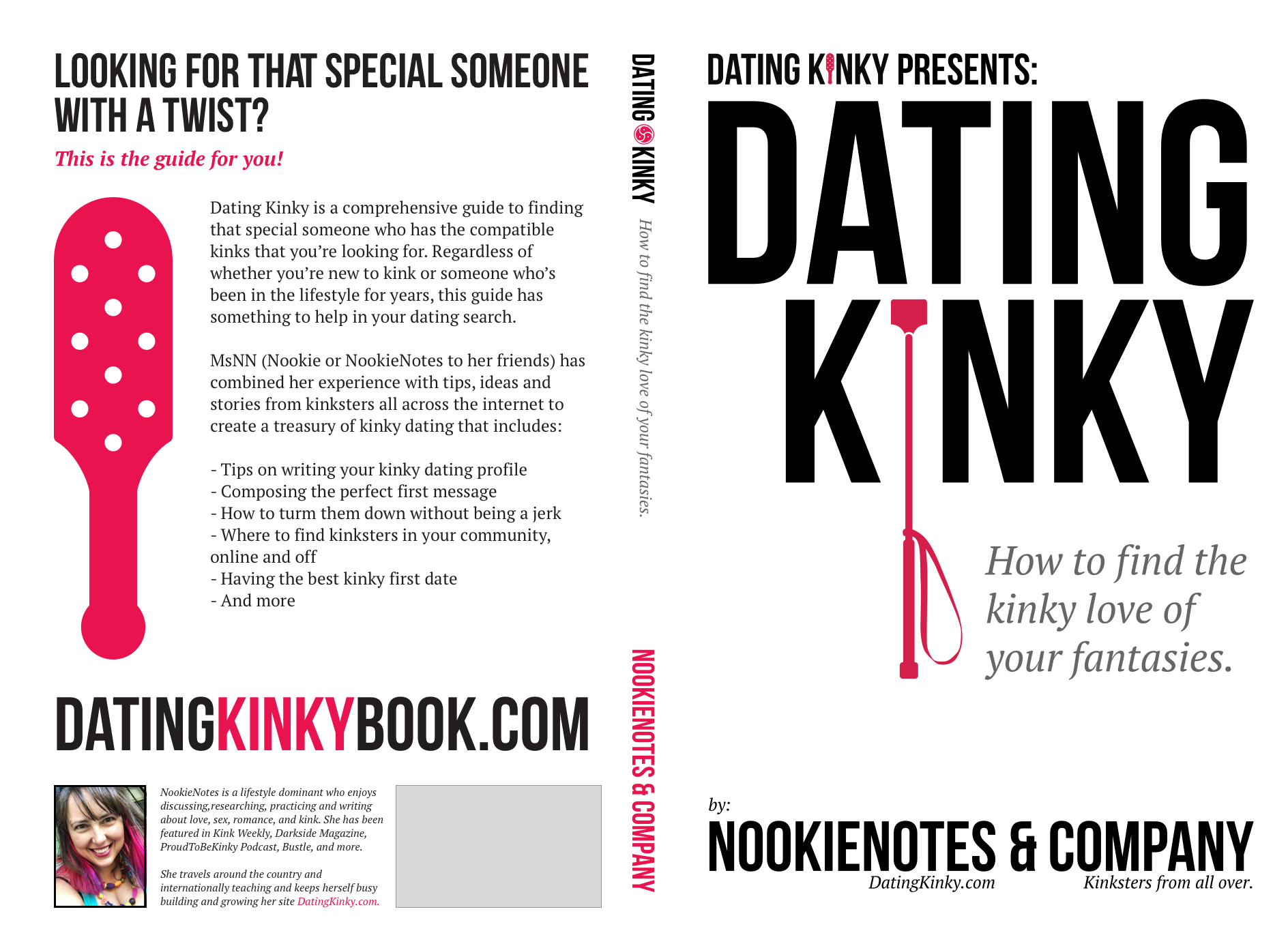 A Labor Of Love & Kink: My New Book, Dating Kinky, Is FREE Oct 1-3, 2018