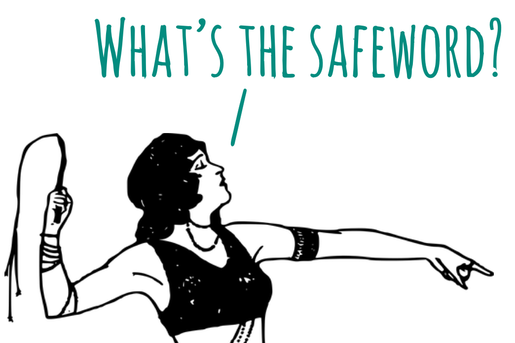 "Let's Debate: ""If you are experienced, you don't need a safeword. They are for beginners."""