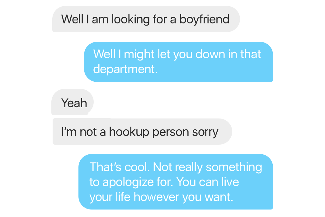 I Don't Do Hookups (Except When I Do)