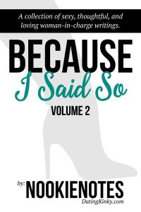 Because I Said So, Volume 2 cover