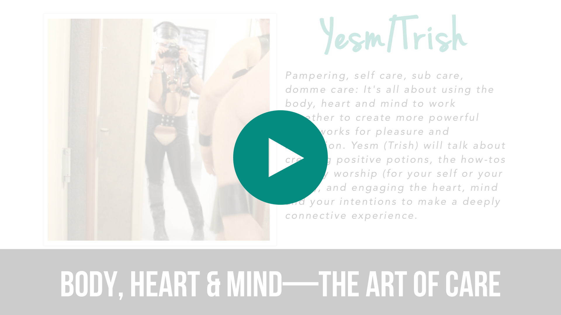 Body, Heart & Mind – The Art of Care