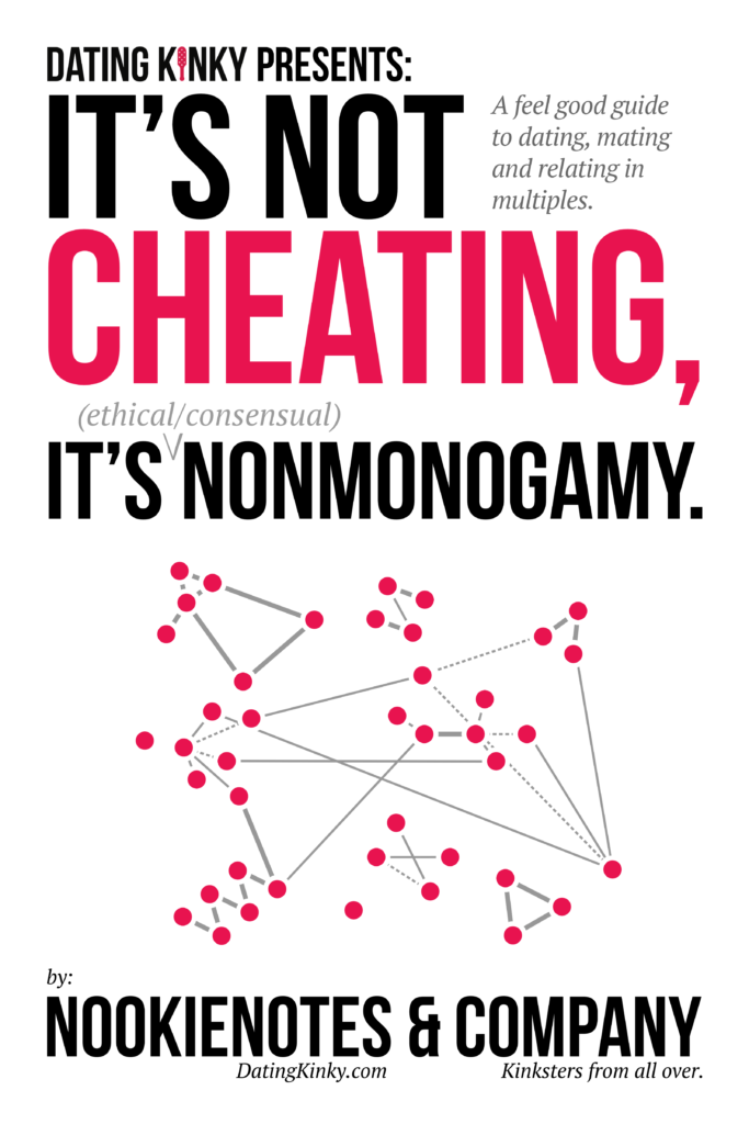 It's Not Cheating, It's ethical/consensual nonmonogamy.