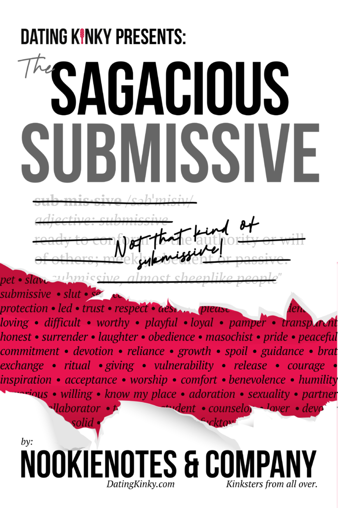 The Sagacious Submissive