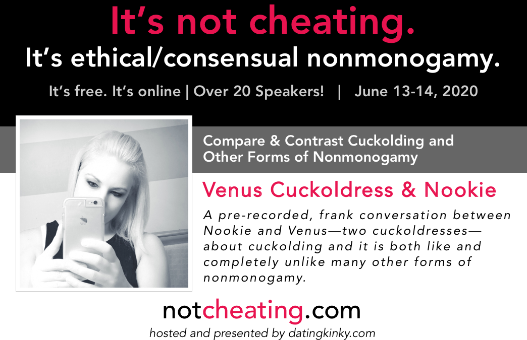 It's Not Cheating: Venus Cuckoldress & Nookie Compare & Contrast Cuckolding and Other Forms of Nonmonogamy