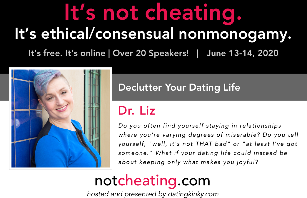 It's Not Cheating: Declutter Your Dating Life