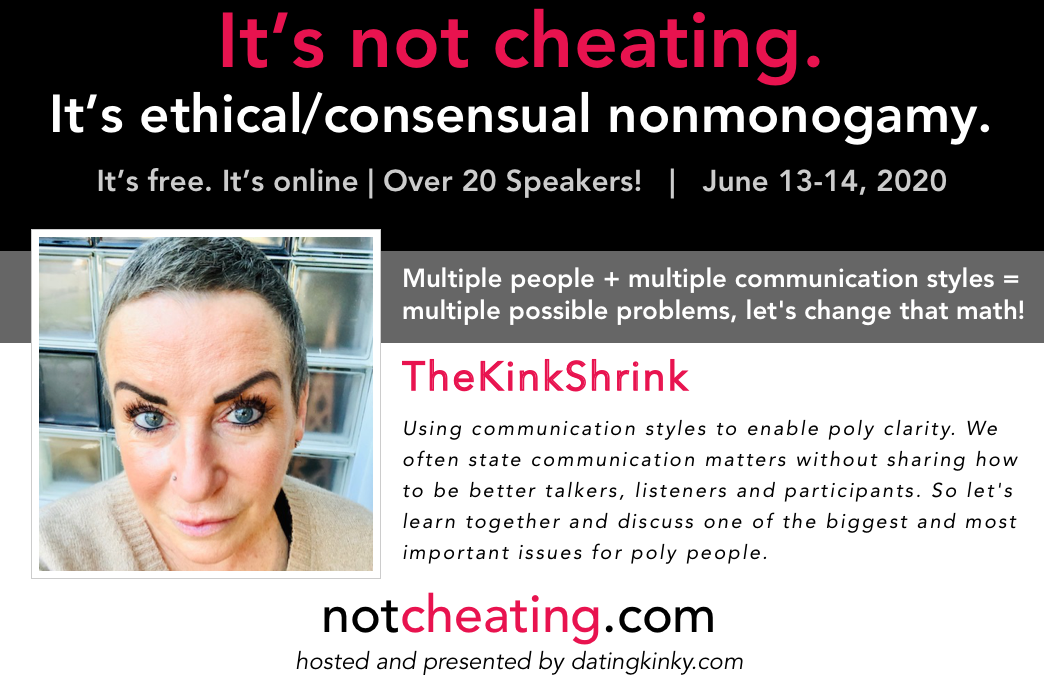 It's Not Cheating: Multiple people + multiple communication styles = multiple possible problems, let's change that math!
