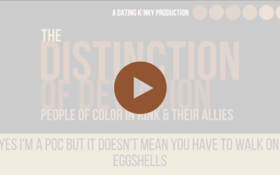Distinction of Deviation, EP7: Yes I'm a P.O.C., but it doesn't mean you have to walk on eggshells!