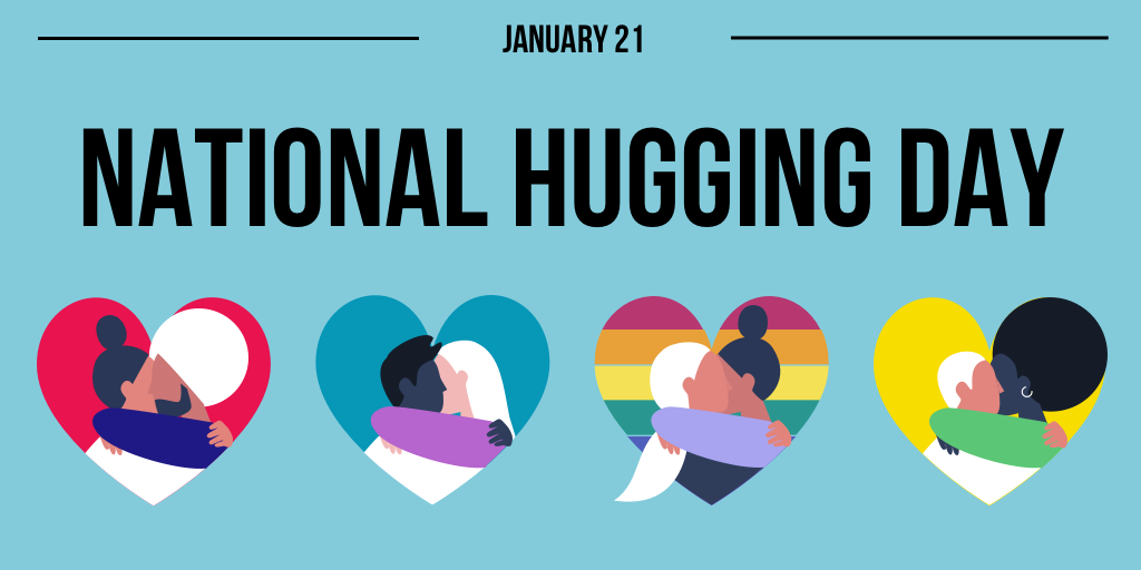 A hug holiday during a pandemic…