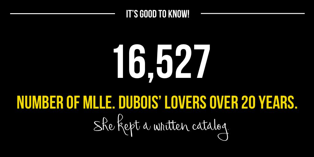 Mlle Dubois' Lovers