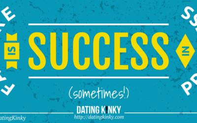 Failure is Success…