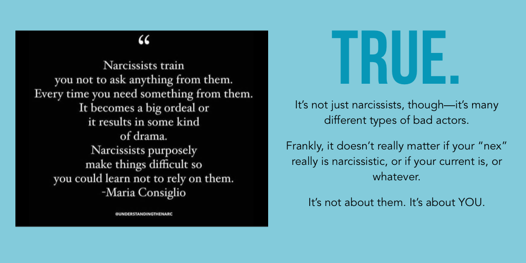 Are they a narcissist, really? Or just an a**hole?